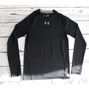 Under Armour Boys  L Fitted  L-sleeve shirt Black
